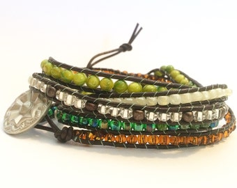 Jungle Fever Wrap Bracelet