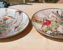 Cecil Eakins Bird Plates Franklin Mint Heirloom Collection