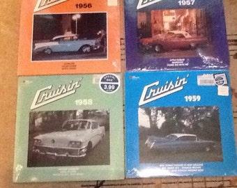 Vinyl Record albums Set of 14 Cruisin' series 1956-1969