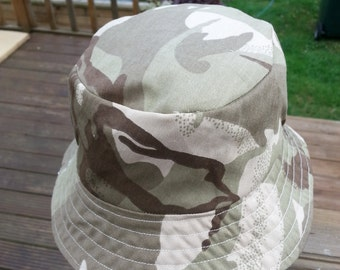 Toddlers camouflage sunhat