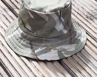 Toddlers Camouflage Reversible Sunhat