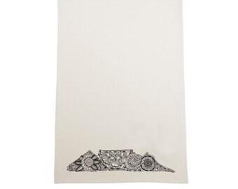 Tea Towel - Royal kaap