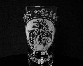 Breaking Bad Los Pollos Hermanos -Heisenberg- Walter White Pint Glass
