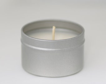 Unscented Beeswax Candel