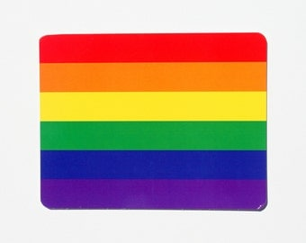 Rainbow Stripes // Fun Postcard // Single Postcard // PC0108