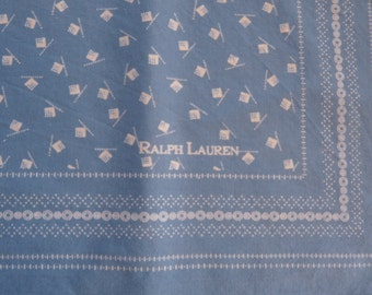 RALPH LAUREN - square of cotton