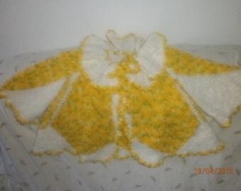 crochet baby girl coat