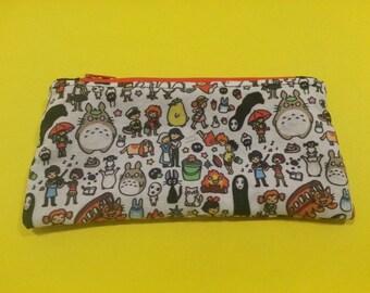 Studio Ghibli Zipper Pouch/Pencil Case