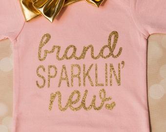 Brand Sparklin' new; Baby gown