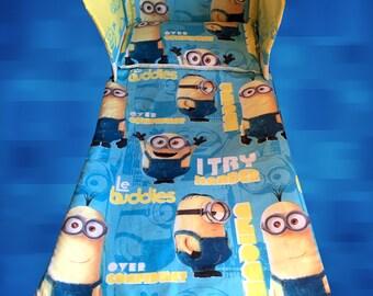 despicable me 2 minion minions movie cot crib bedding by