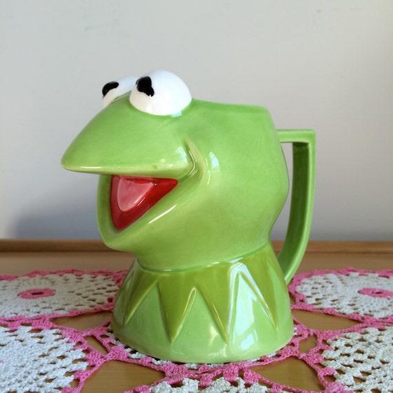Kermit The Frog Drinking Milk