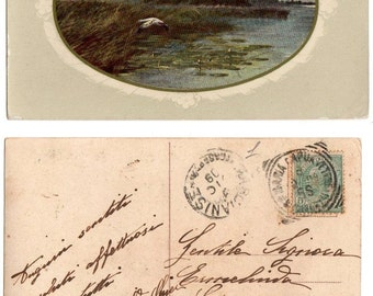 Italian postcard 1909
