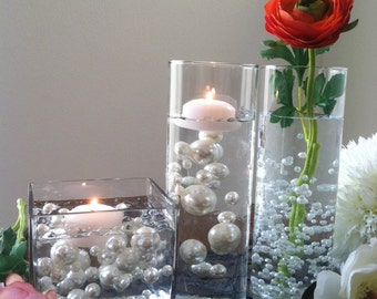 Transparent Water Gel Beads Used To Float Pearls For Centerpieces - Vase Filler