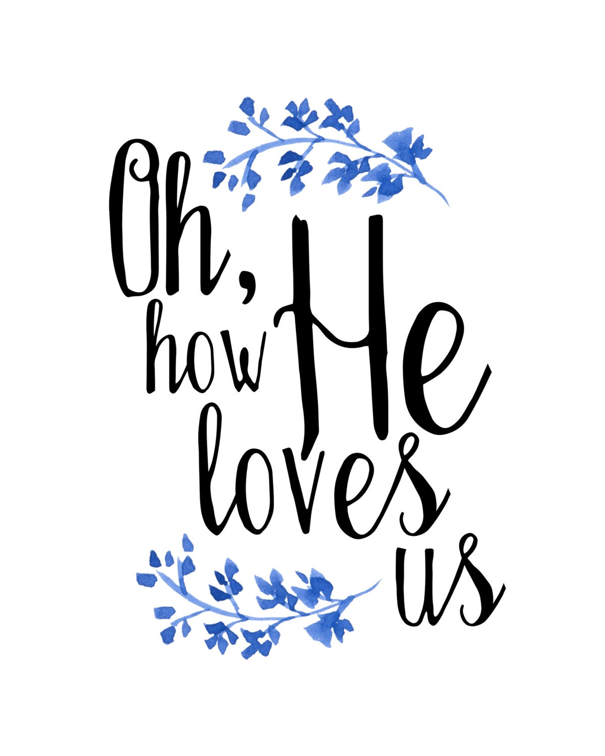 Free Christian Quotes: Oh How He Loves Us Print David Crowder By Bridgetmariedesigns