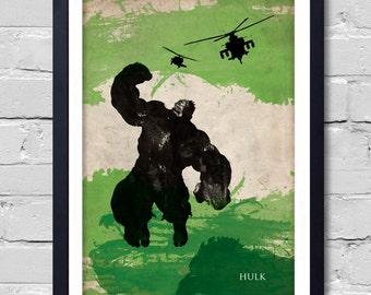 Avengers Hulk Poster