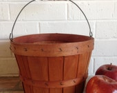 Wooden Splint Orchard Basket