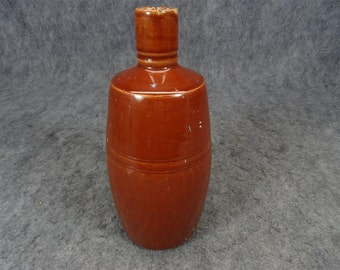 Stoneware Pouring Jug with Narrow Mouth