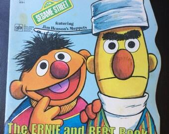 The Ernie & Bert Book (Sesame Street/Golden Shape Book) Paperback – by Norman Stiles (Author), Joe Mathieu  (Illustrator)