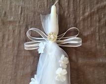 Lambathes / Greek Wedding / Baptism / Easter / Celebratory Candles