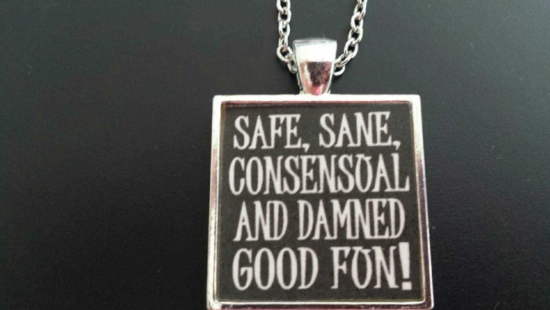 BDSM Safe Sane Consensual Fun Submissive Jewelry By HallClosetNC