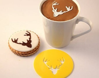 Coffee Stencil, Cookie Stencil, Custom Stencil