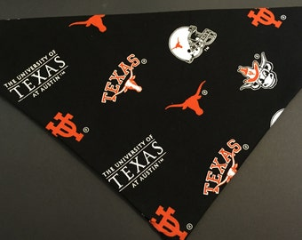 Dog bandana, University of Texas at Austin