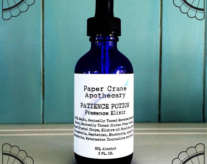 PATIENCE POTION - Presence Elixir - Gem Elixir - Crystal Healing