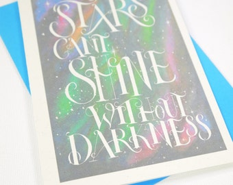 Stars and Darkness Card