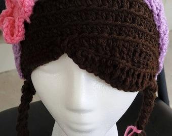 Crochet Doc McStuffins Hat