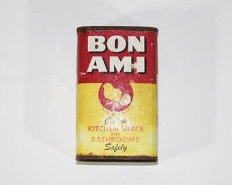Vintage Bon Ami Cleanser Tin