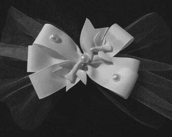 Wedding hair Bow