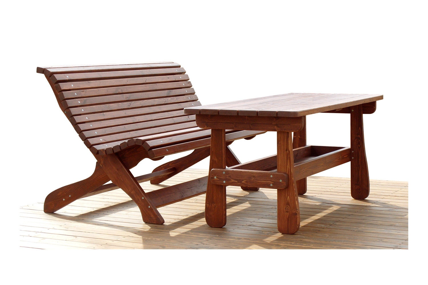 Items Similar To How To Make A Quality WOODEN BENCH 2   TABLE For 4 Or . Full resolution‎  pic, nominally Width 1500 Height 1000 pixels, pic with #451910.