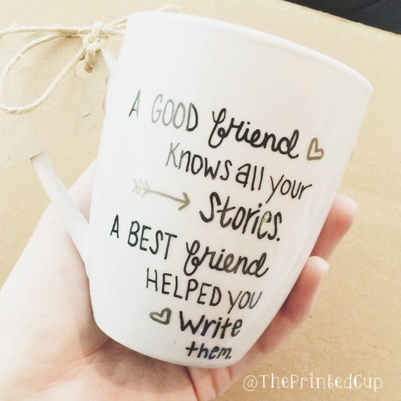 Bff best friend quote perfect friend gift present by for A perfect gift for a friend