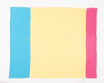 Linen beach towel, blanket, FREE shipping