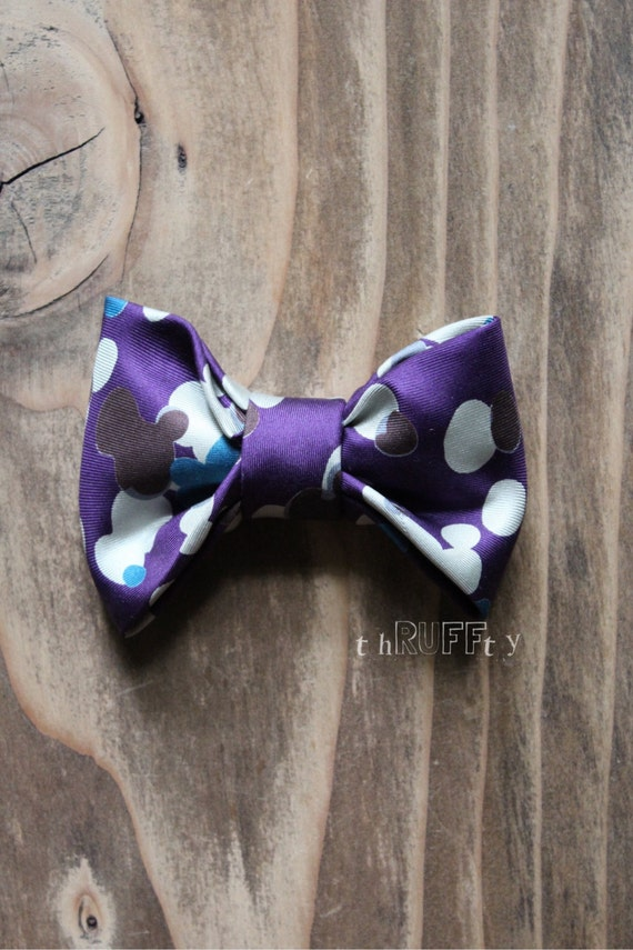 ... Dog Bow Tie, dog collar accessory, slide on collar accessory, dog bows