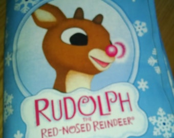 Rudolph The Red- Nosed Reindeer  Cloth Book: Item BK150054