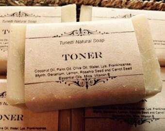 Toner Natural Natural Homemade Soap, Handmade soap, Natural Soap, Cold Process Lye Soap