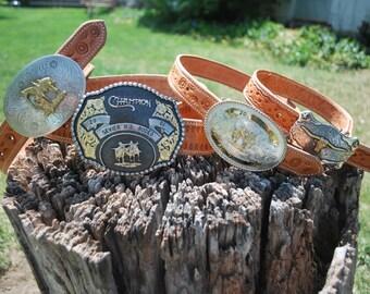 Handmade Leather Children's Belts