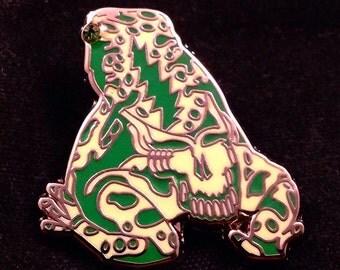 Grateful Dead Poison Dead Frog. Green & Light Green . Limited edition-50