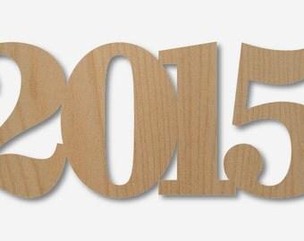 Wooden Year Guestbook - 2015 - Graduation Guest Book