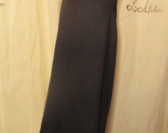 "Dress ""The Wave"", Black"
