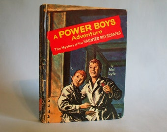 The Mystery of the Haunted Skyscraper A Power Boys Adventure Vintage 1964 Mel Lyle