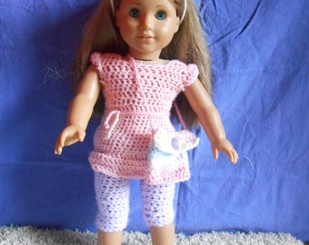 American girl doll 5 piece outfit