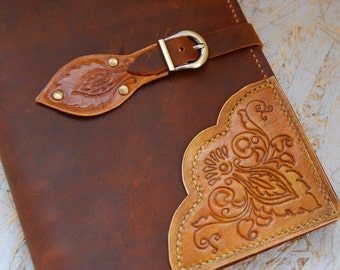 Genuine Leather Journal, Totally Handmade, Journal with Personalization, Vintage journal, Diary, Notebook Brown leather Journal Gift for her