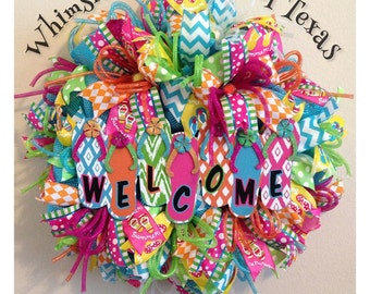 Custom Flip Flop Wreath