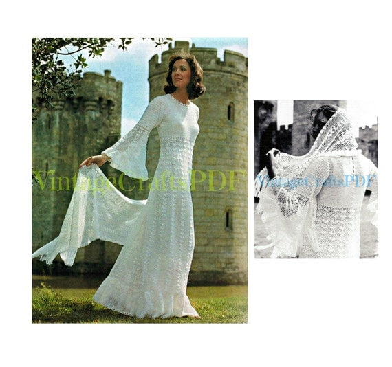Fairy tale wedding dress and stole wrap stunning by for Angel wings wedding dress
