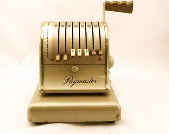 Vintage Paymaster Check Writer Series S-600
