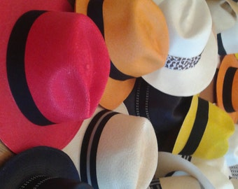 Panama Hats handmade in Ecuador. Natural & Colours. Visit  itsallgoodlife.com to find out more about our products.