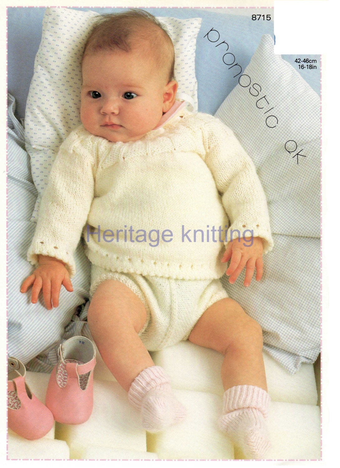 baby angel top and pants 5 ply knitting pattern 99p pdf
