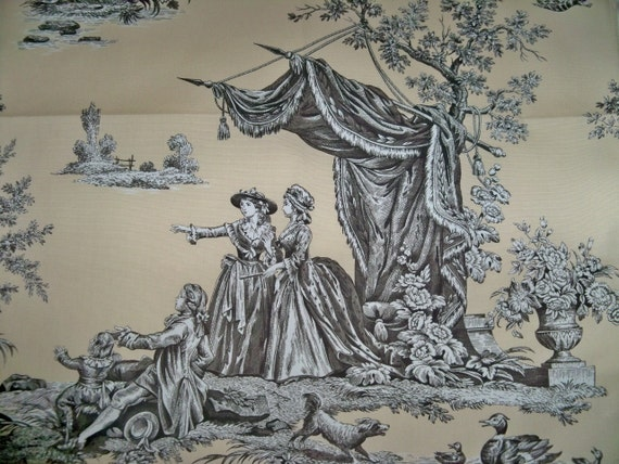 manuel canovas jardin du luxembourg fragonard toile fabric 10